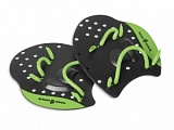 Лопатки для плавания, MadWave Paddles PRO, Black/Green от магазина Best-Swim.ru